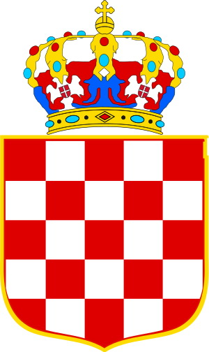 300px Coat of Arms of the Banate of Croatia