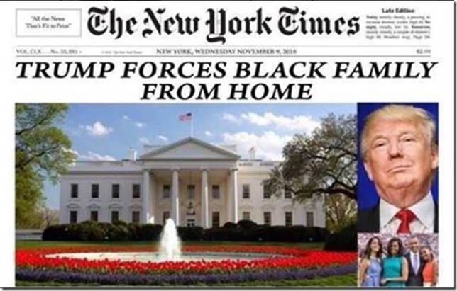 Trump forces black family